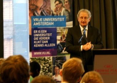 Burgemeester Van der Laan tijdens de Staatsrechtconferentie 2013
