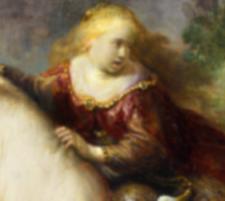 Europa Rembrandt detail LIGGEND